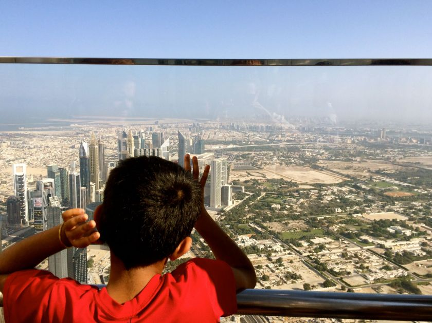Annika Ziehen_best of 2014_traveling the world_midnight blue elephant_burj khalifa_dubai