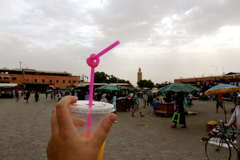 Morocco - Marrakech - Woman Traveler - Midnight Blue Elephant - Annika Ziehen